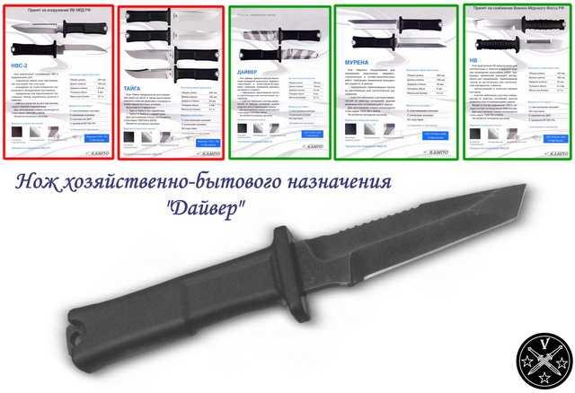 Линейка ножей Кампо 2012 года