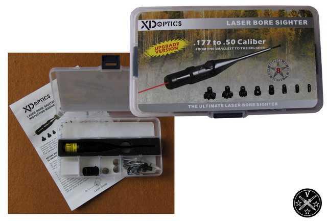 Пприспособление холодной присрелки XDoptic Laser bore sighter LRBS2