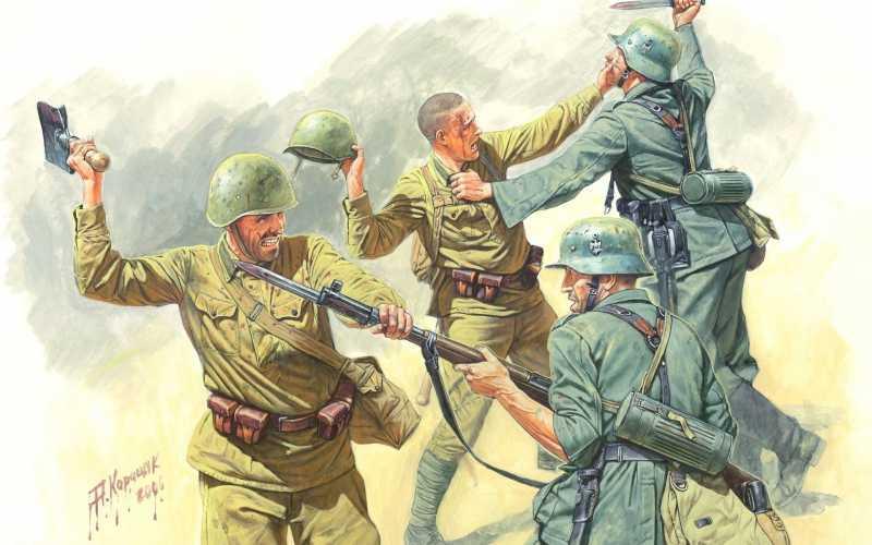 11)Последний бой хвостатой роты