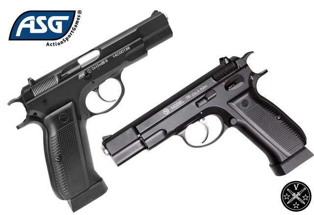 Новый пневматический пистолет ASG CZ 75