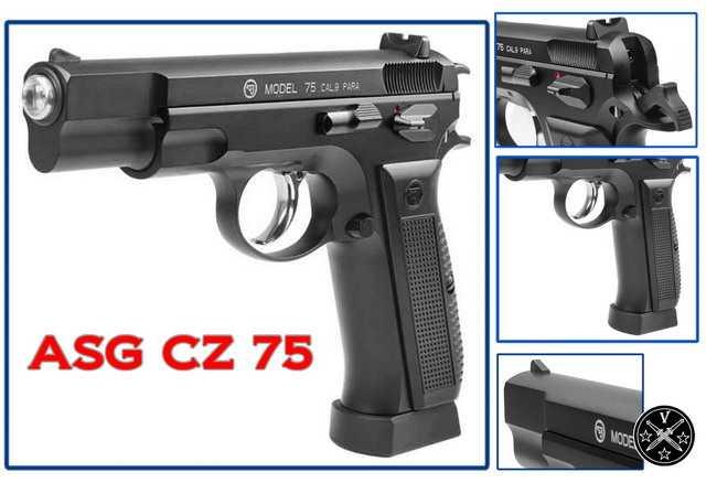 Конструктивные элементы ASG CZ75