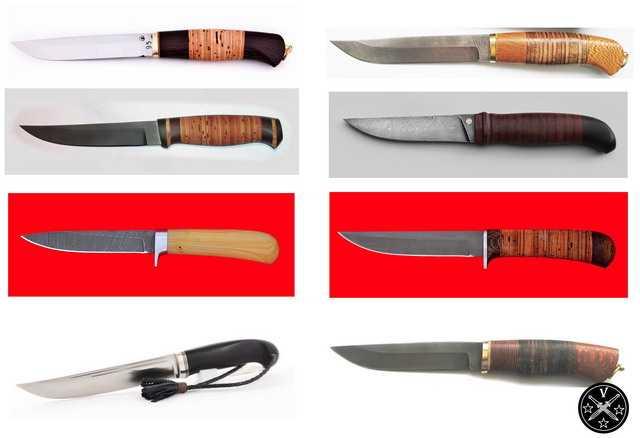 Ножи выпускаемые как засапожные
