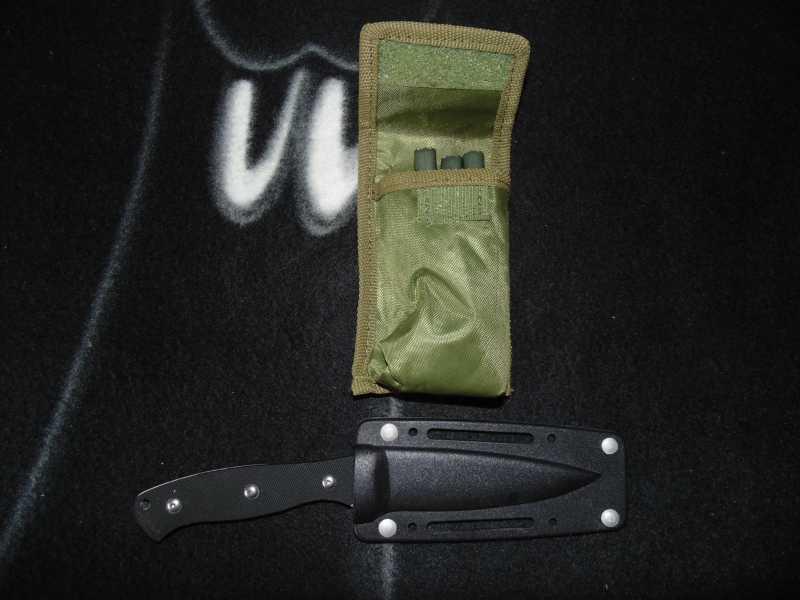7)Тест различных девайсов в походных условиях (топор, нож)