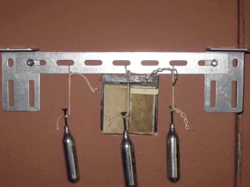 11)Пулеуловитель для дома