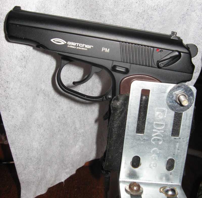 8)Статья ни о чем или станок для пристрелки пистолета)))
