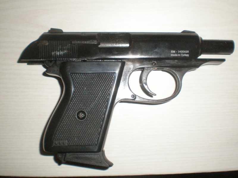 2)Мусульманин. (сигнальный пистолет зораки)
