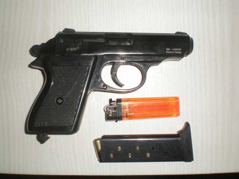 5)Мусульманин. (сигнальный пистолет зораки)