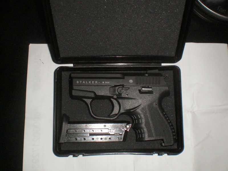 2)Сигнальный пистолет Zoraki Stalker M 906.