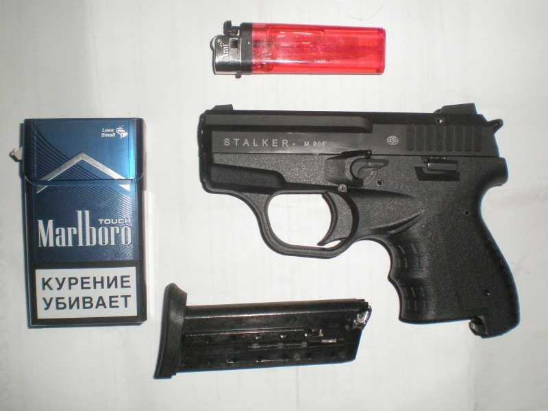 3)Сигнальный пистолет Zoraki Stalker M 906.
