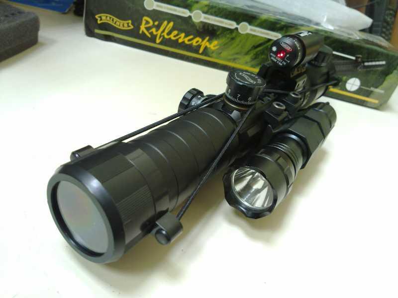 15)Оптический прицел Вальтер 3-9x32 EG