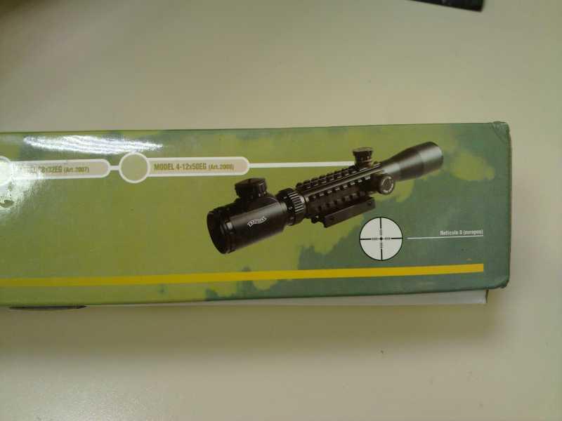2)Оптический прицел Вальтер 3-9x32 EG