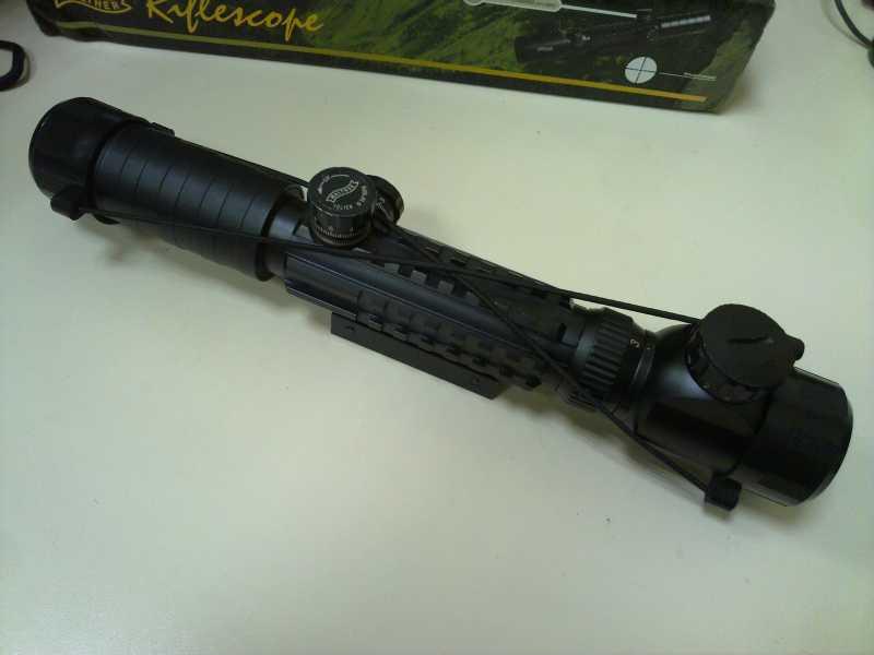 8)Оптический прицел Вальтер 3-9x32 EG