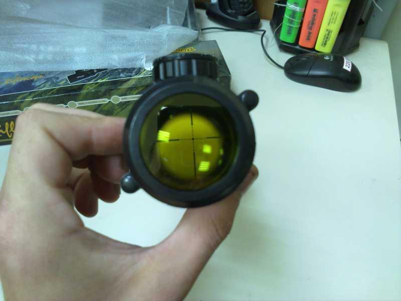 9)Оптический прицел Вальтер 3-9x32 EG