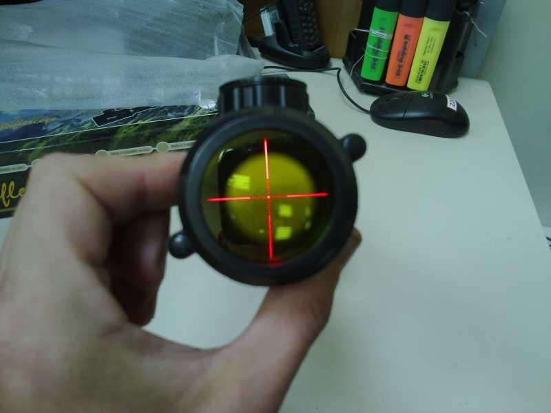 10)Оптический прицел Вальтер 3-9x32 EG