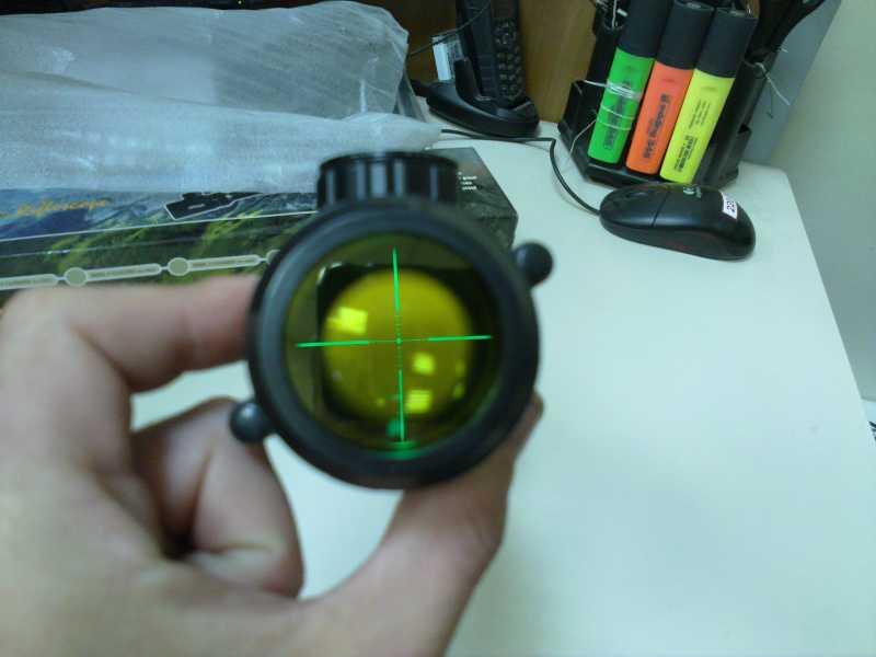 11)Оптический прицел Вальтер 3-9x32 EG