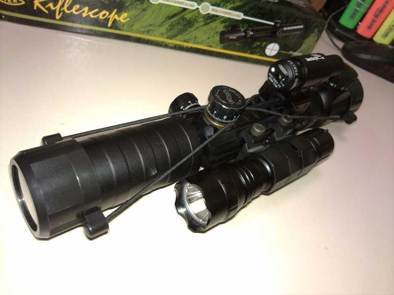 12)Оптический прицел Вальтер 3-9x32 EG