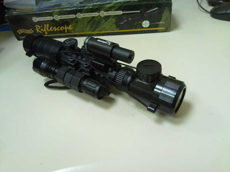 13)Оптический прицел Вальтер 3-9x32 EG
