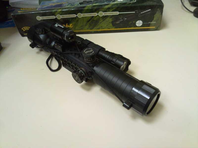 14)Оптический прицел Вальтер 3-9x32 EG