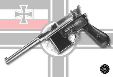 Прототип пистолета Маузер