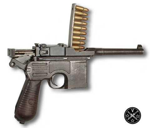 Снаряжение Маузера патронами из обойбы