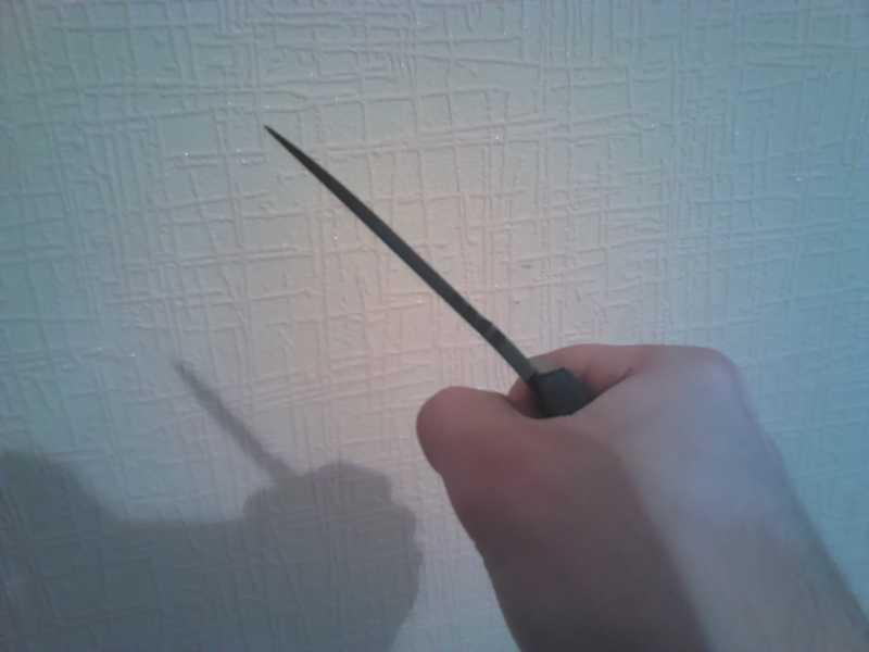 11)Нож-ремень глазами владельца.