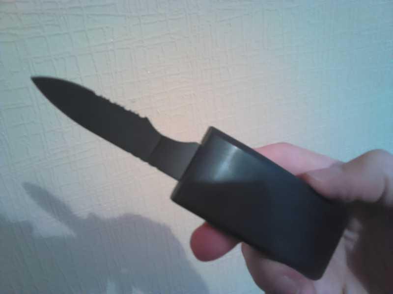 4)Нож-ремень глазами владельца.