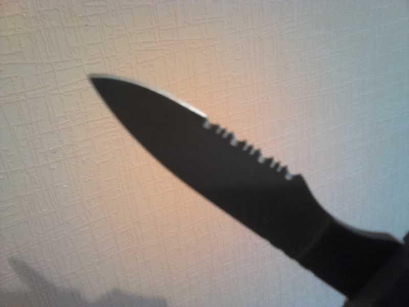 5)Нож-ремень глазами владельца.