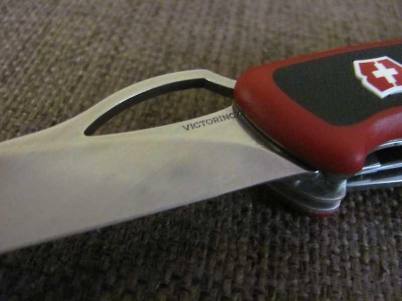 3)Проба «пера». Обзор ножа Victorinox 0.9563.MC RangerGrip 79
