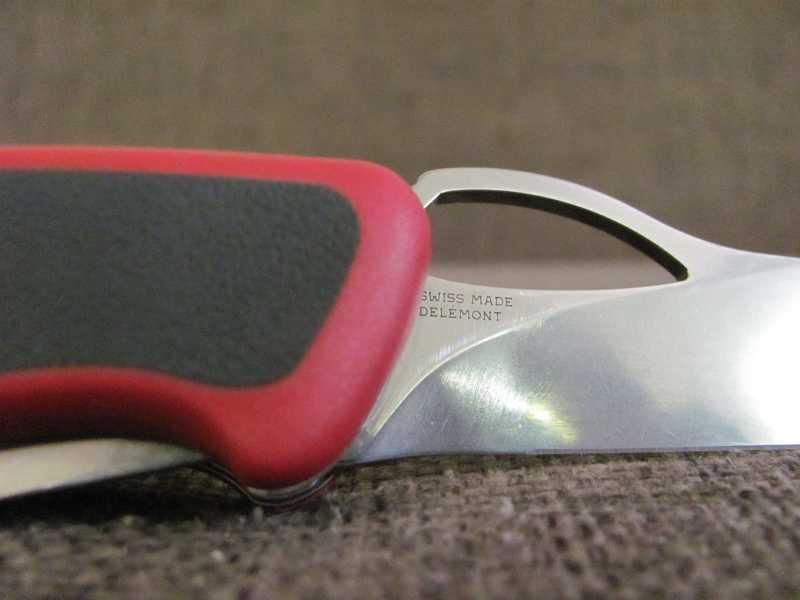 2)Проба «пера». Обзор ножа Victorinox 0.9563.MC RangerGrip 79
