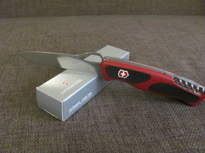 7)Проба «пера». Обзор ножа Victorinox 0.9563.MC RangerGrip 79