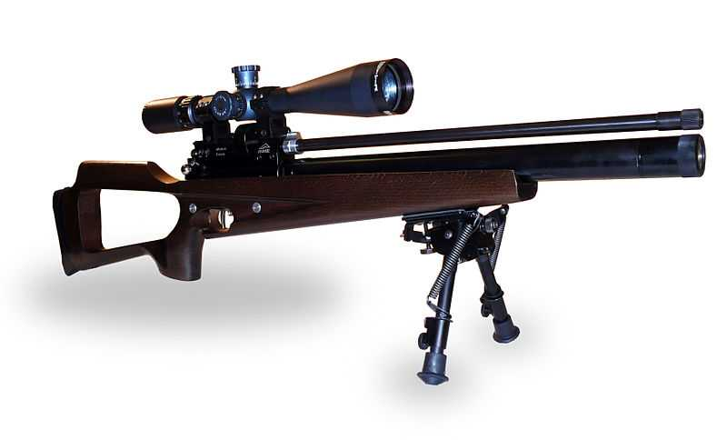 6)Описание пневматической винтовки выпускаемой в разных модификациях Климовским специализированным патронным заводом