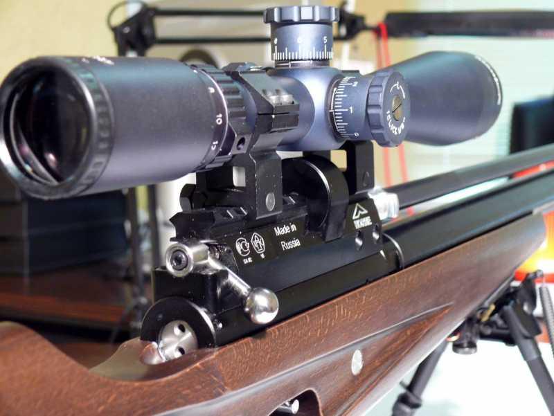 9)Описание пневматической винтовки выпускаемой в разных модификациях Климовским специализированным патронным заводом