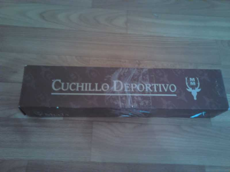 1)Нож Лось от компании Muela.