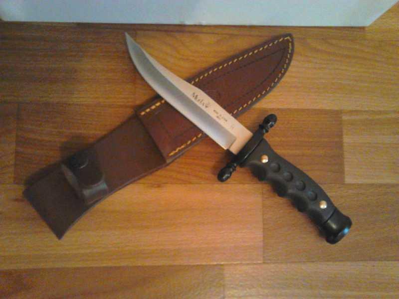 3)Нож Лось от компании Muela.