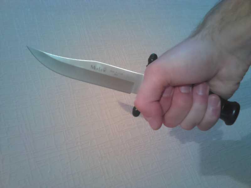 6)Нож Лось от компании Muela.