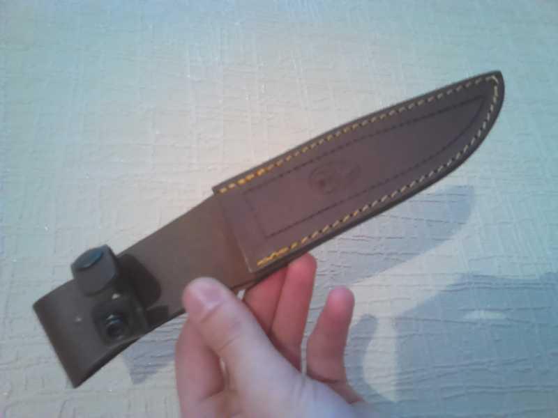 13)Нож Лось от компании Muela.