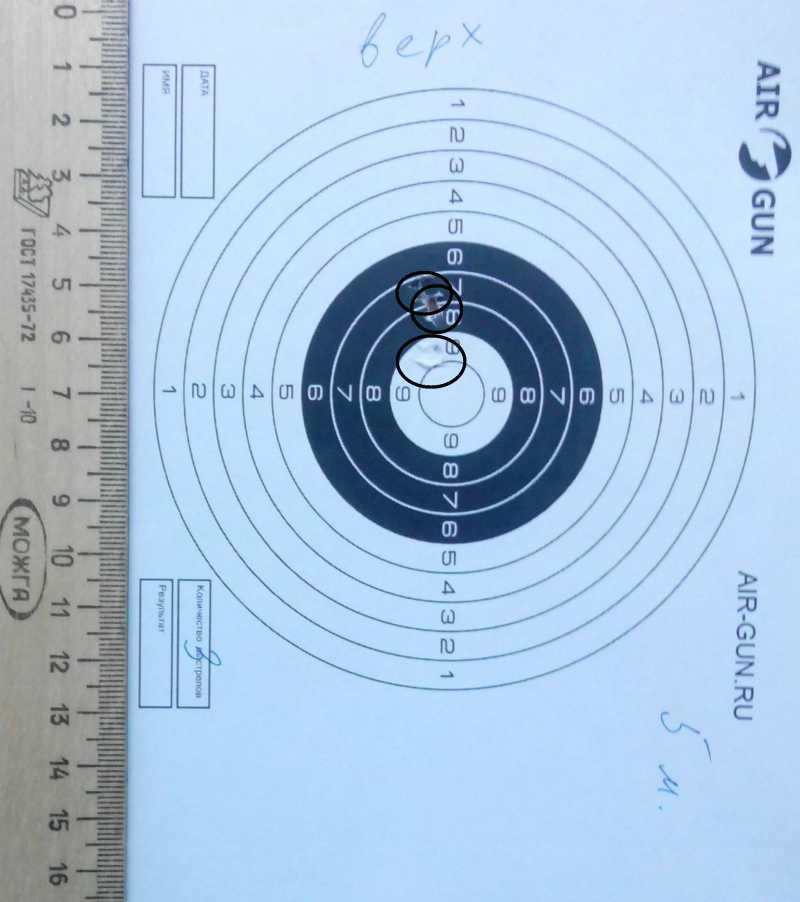 4)Субъективное мнение о пневматическом пистолете SMERSH H58P