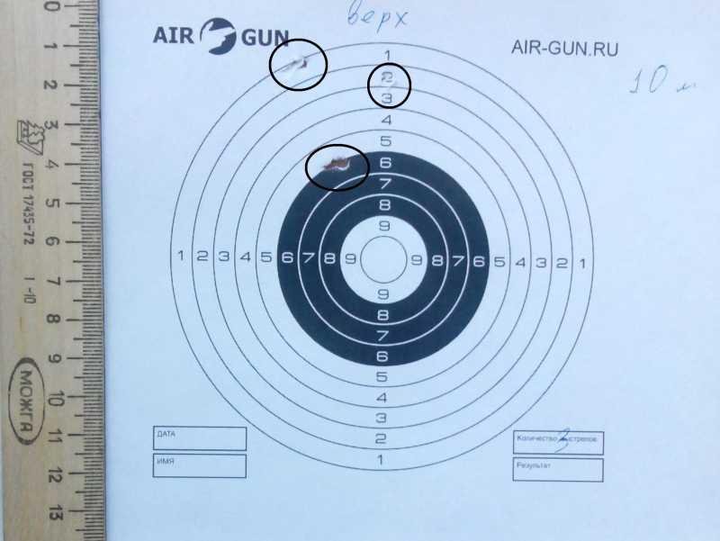 5)Субъективное мнение о пневматическом пистолете SMERSH H58P