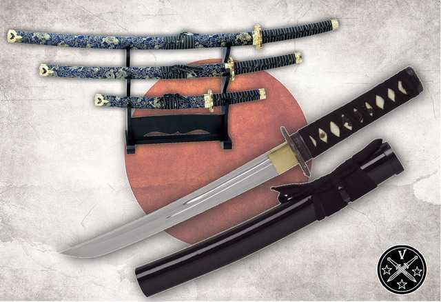Боевой нож самураев - танто