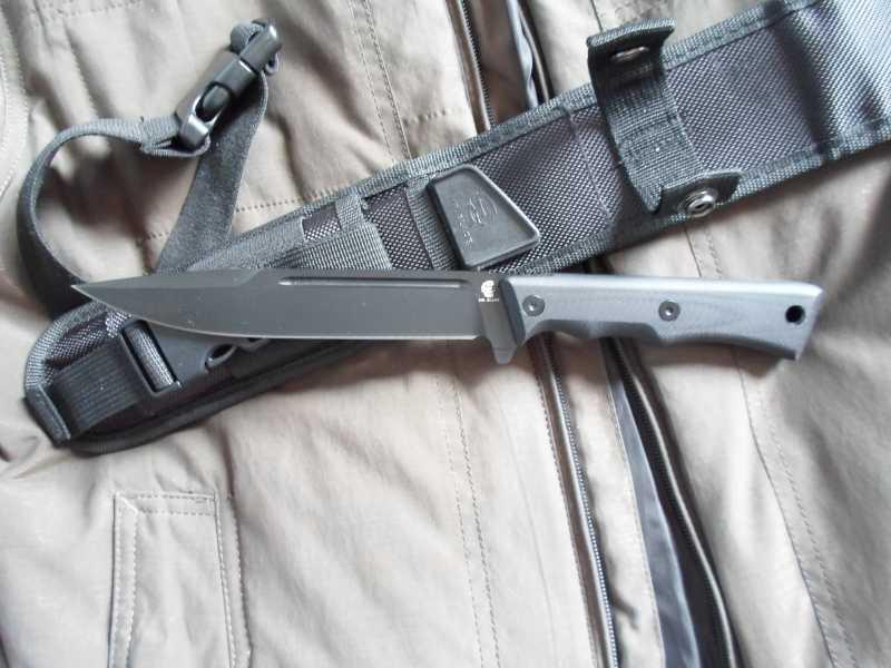 2)Чёрный нож Eagle от фирмы Mr.Blade.