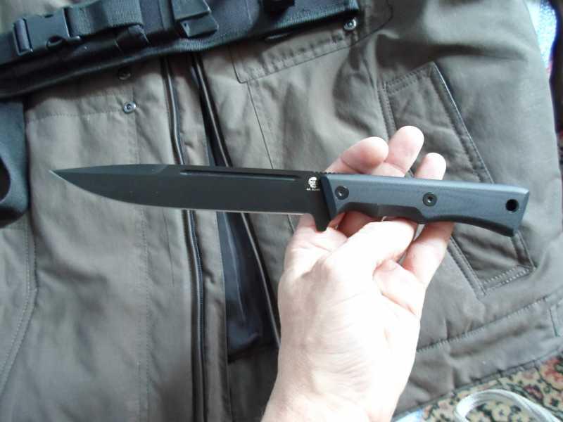 7)Чёрный нож Eagle от фирмы Mr.Blade.