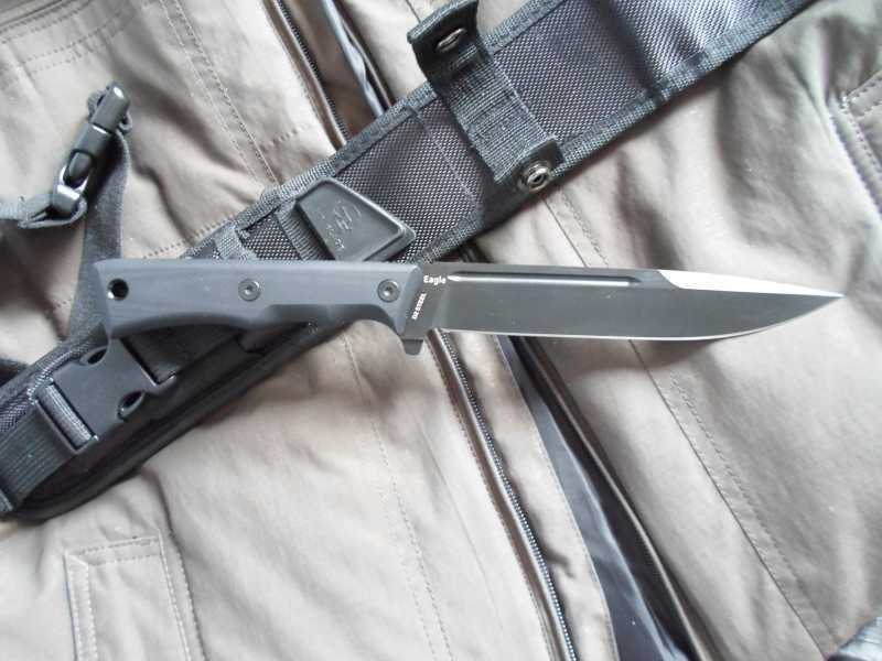 9)Чёрный нож Eagle от фирмы Mr.Blade.