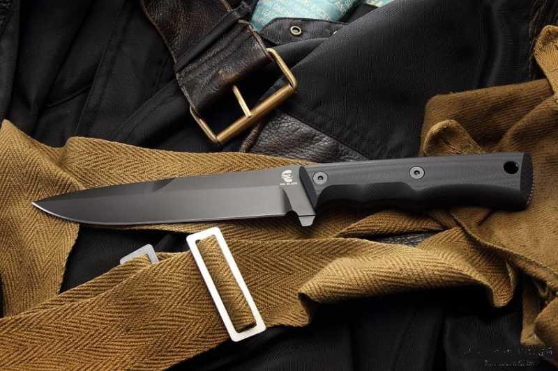 14)Чёрный нож Eagle от фирмы Mr.Blade.