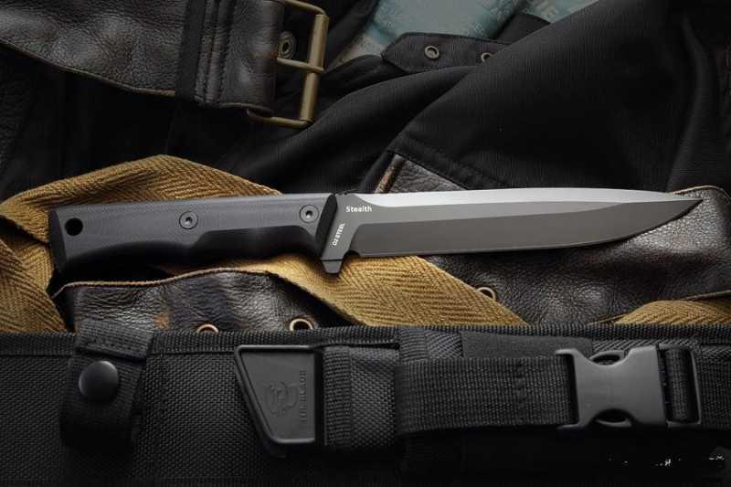 15)Чёрный нож Eagle от фирмы Mr.Blade.