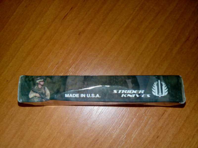 4)Микро-обзор американского ножика от шведских китайцев из Голландии