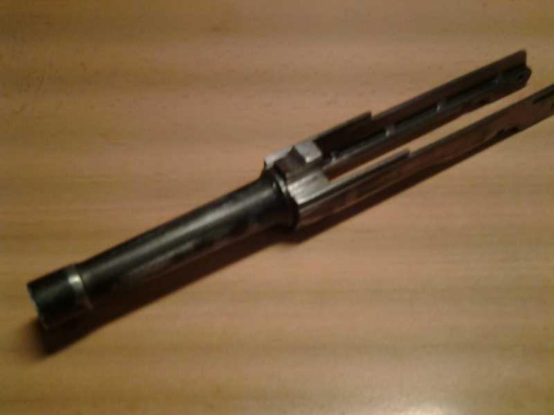 2)Глетчер Р-08 железная ствольная  рамка