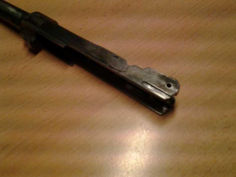 5)Глетчер Р-08 железная ствольная  рамка