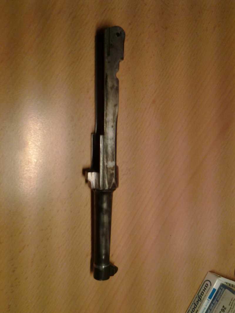 7)Глетчер Р-08 железная ствольная  рамка