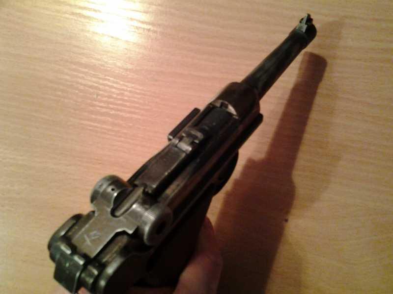 1)Глетчер Р-08 железная ствольная  рамка