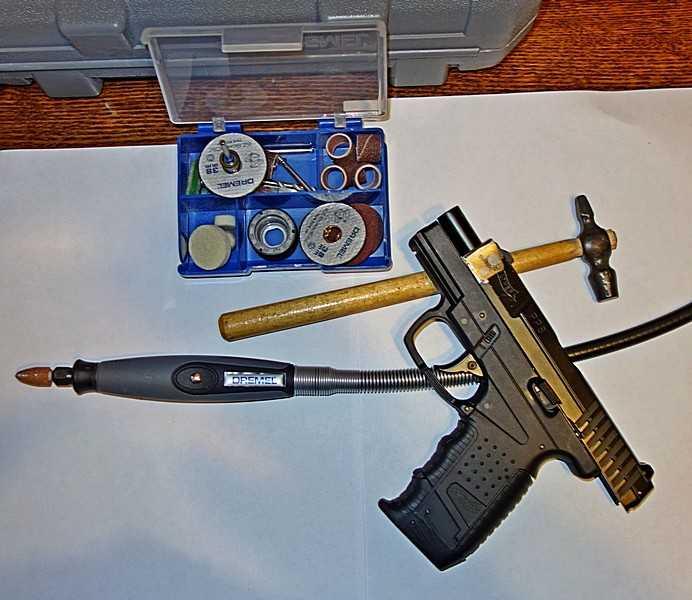 13)Ремонт пневматического пистолета